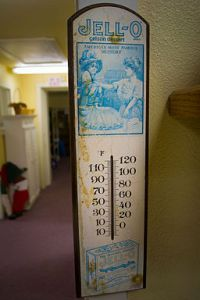 A Jell-O thermometer.